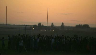 Candlelight vigil held year after Freeman High School shooting