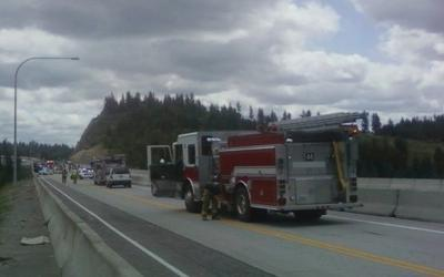 UPDATE: 395 Closed After Pursuit Ends In Fatal Crash