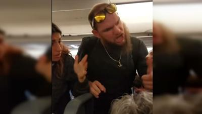 Deaf couple gets in fight with man who allegedly punched their service dog on plane