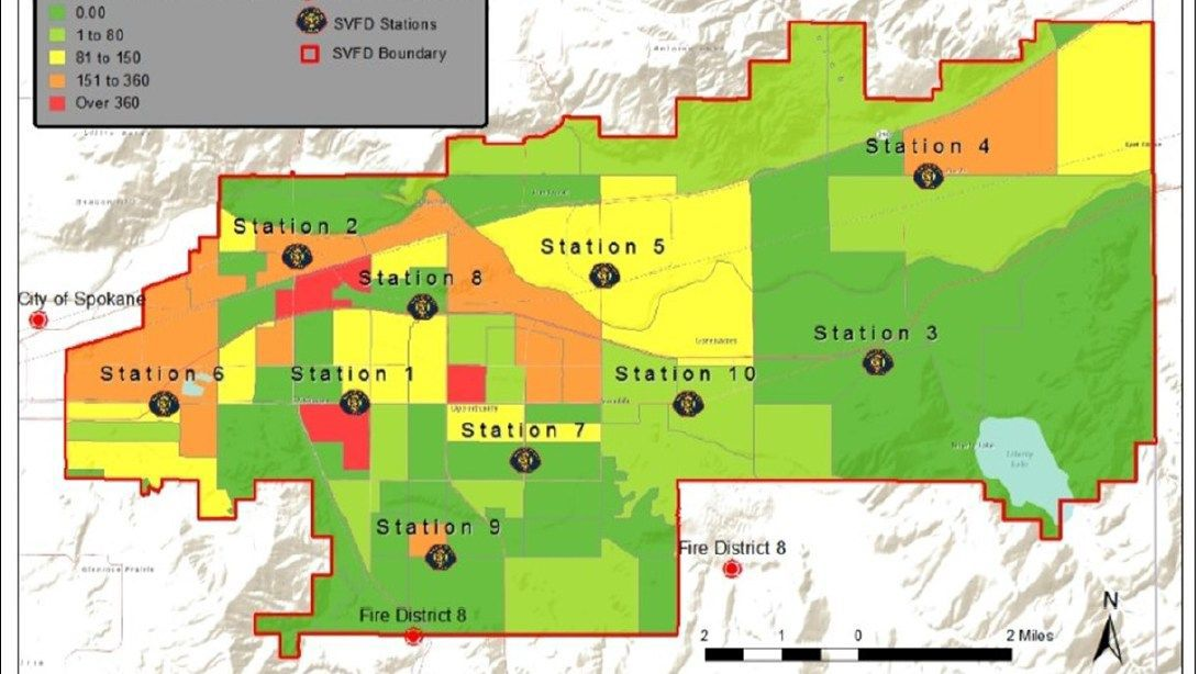 Svfd Utilizes Opioid Hot Spot Chart To Tackle Overdose Crisis News