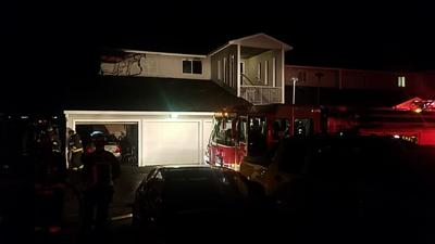 Apartment fire starts on South Hill balcony Wednesday 4/24