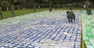 Colombia authorities make record 12-ton cocaine seizure