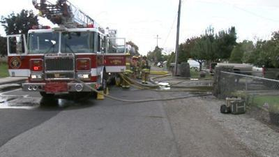 Fire damages house under construction in Spokane Valley