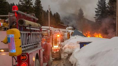 Man escapes serious injury when mobile home explodes