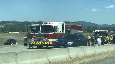 Driver following too close causes 4-car crash on I-90