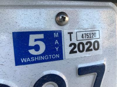 Washington Car tabs