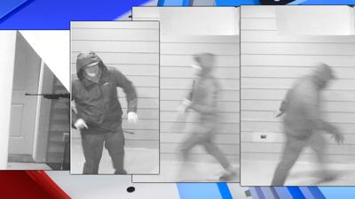 North Spokane security cameras capture armed vandals causing repeated destruction