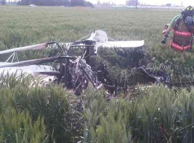 LOOK AT THE PHOTOS: Student Pilot & Instructor Crash Near Moses Lake