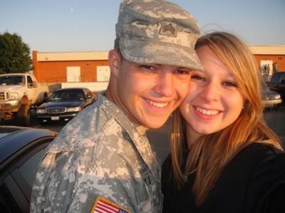 "Sgt. Matthew Stiltz' Body Returns Home, His Wife: ""I'm Blessed"""