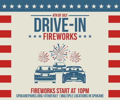 Drive-In fireworks shows