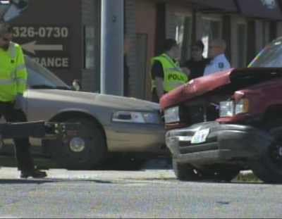 Suspected DUI Driver Injures Police Officers During Morning Commute