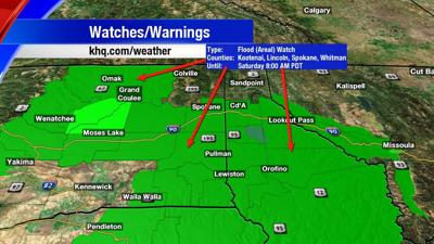 Flood Watches In Effect Until Saturday Morning