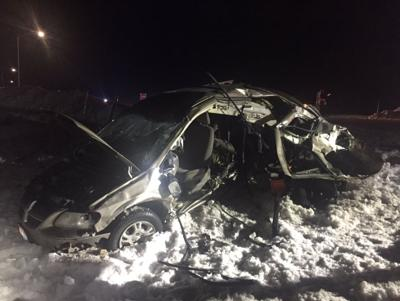 Saturday night crash on US 95 turns fatal | Top Story | khq com