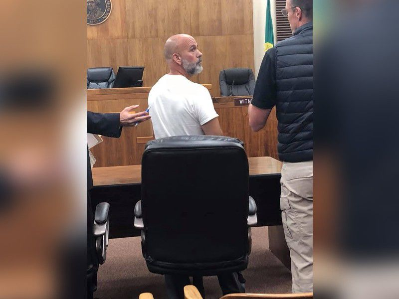 Dan Hargraves in court