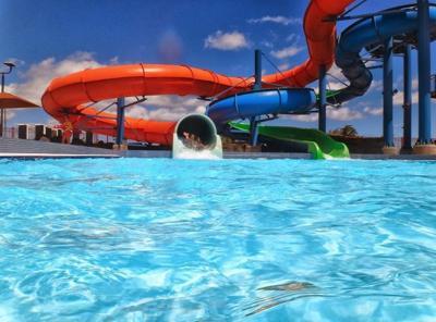 waterslide waterpark summer pool generic