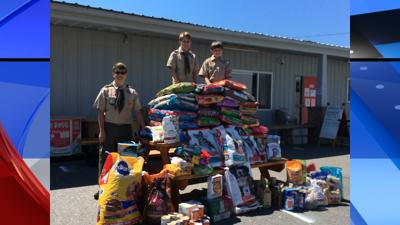 Spokane Eagle Scout SHS donations