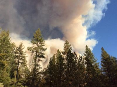 California wildfire injures 2 firefighters, multiple civilians
