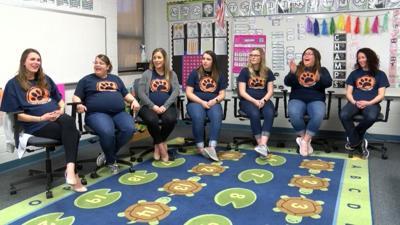 Pregnant teachers