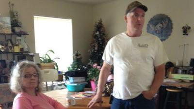 Thieves steal money put aside for brain surgery bills from Hayden couple