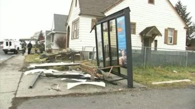 Bus Stop Crash