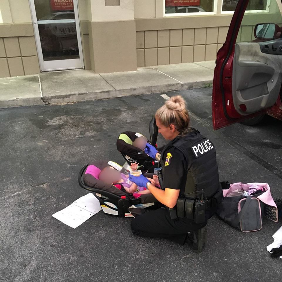 Naked toddler in Florida IHOP parking lot leads authorities to passed out adults