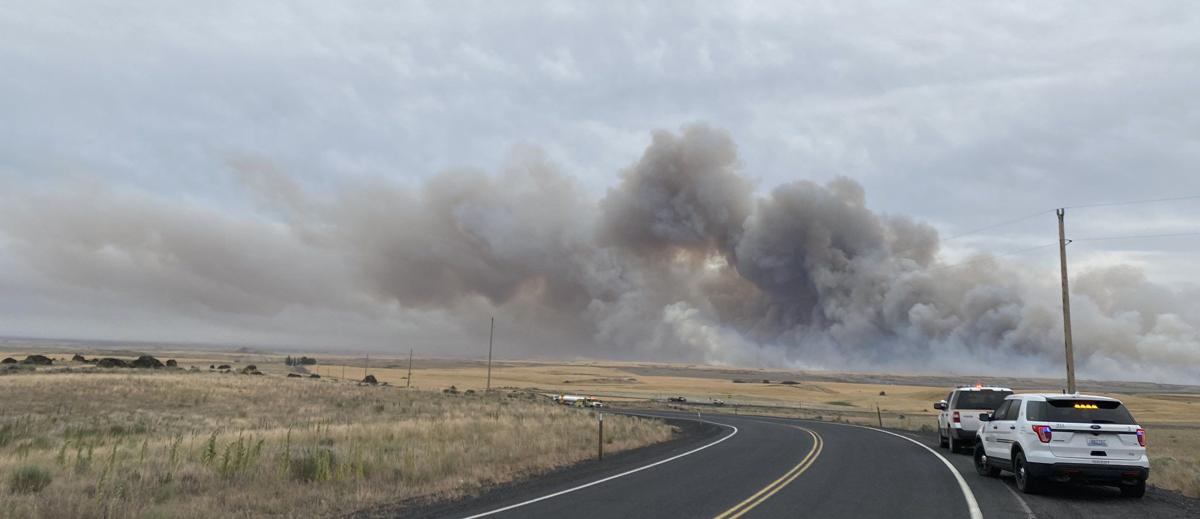 Brush fire burning in Douglas County forces level 2 evacuations, burns outbuildings