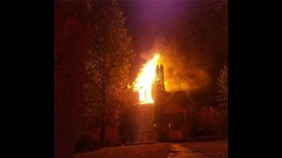 Moscow home suffers significant damage after fire