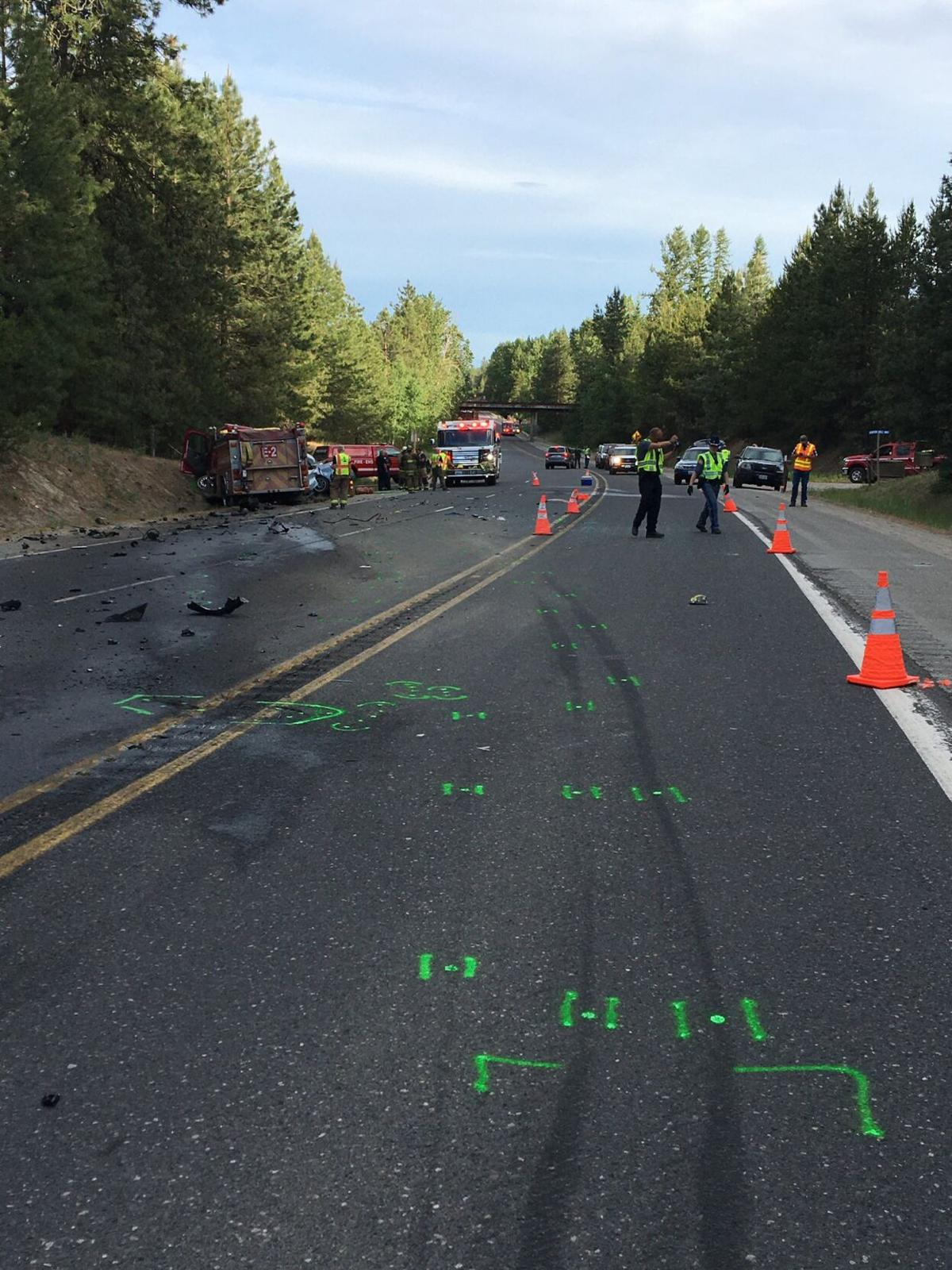 UPDATE: WSP looking for witnesses of the US-395 crash that killed 3