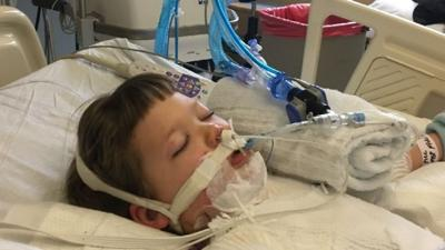 Oregon family hopes letters to little girl will help her recover from severe burns