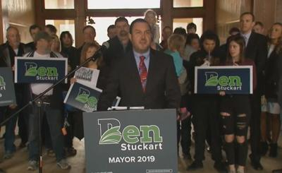 Spokane City Council President Ben Stuckart announces his run for Spokane Mayor 2019