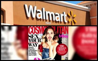 Walmart removes Cosmo  from checkout aisles for contributing 'to culture where men view women as inanimate sex objects'
