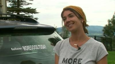 Woman travels across America to collect stories of human kindness from strangers