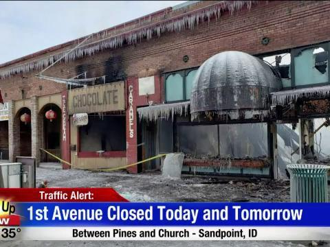 Downtown Sandpoint Roads Closed for Fire Investigation | News | khq com