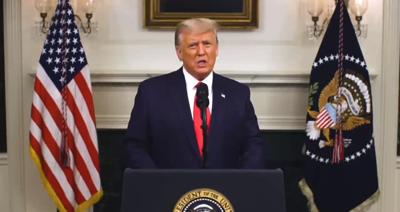 Trump speaks