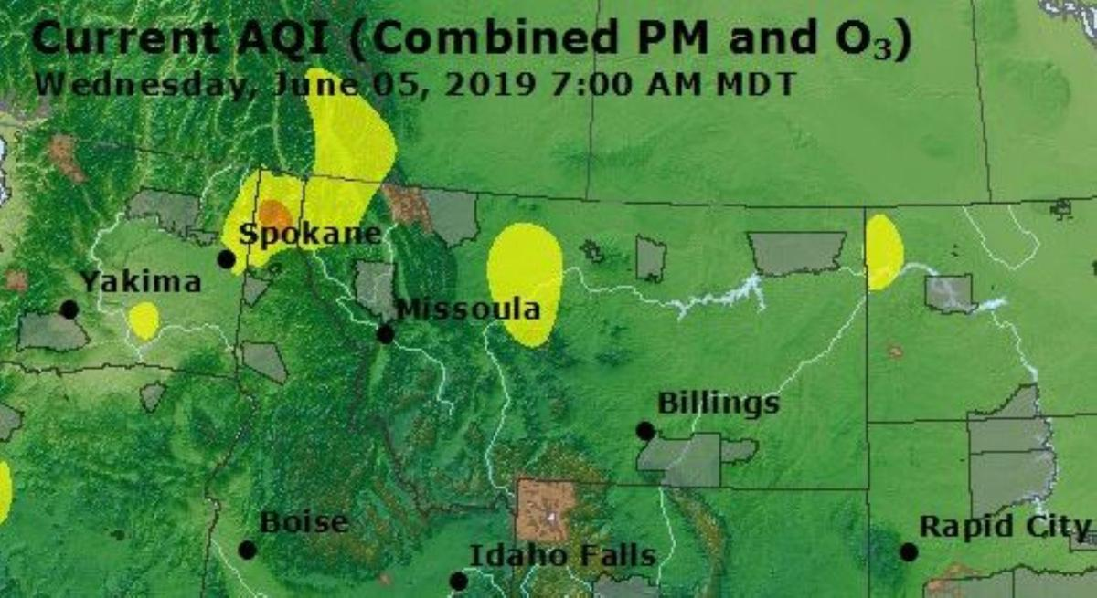 Sandpoint Air Quality June 5