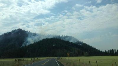231 Fire near Springdale:  880 acres, 25% contained