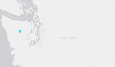 4.1 earthquake shakes Olympic Peninsula