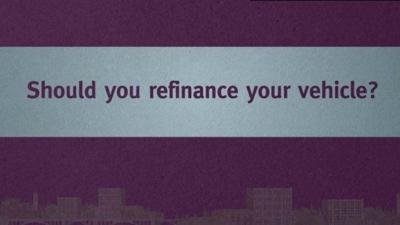 Should you refinance your vehicle loan? (sponsored)