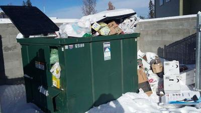 Heap of trash causes health hazard concerns