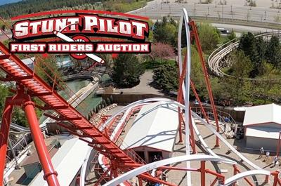 Auction for first ride on Silverwood's new 'Stunt Pilot' ends Monday