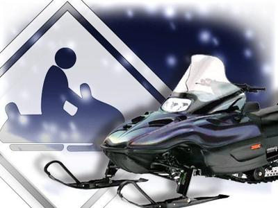 Man killed in apparent snowmobile collision