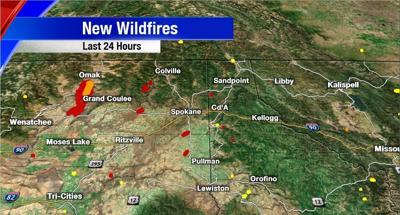 New wildfires
