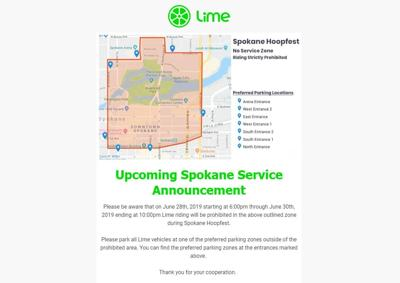 Lime map