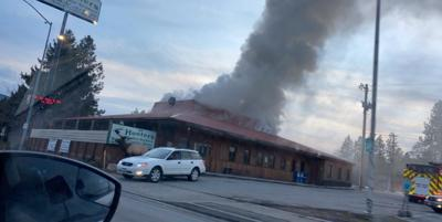 Fire at GW Hunters in Post Falls
