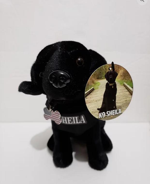 K9 Shelia Plush Toy