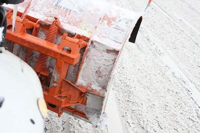 Spokane snow plow