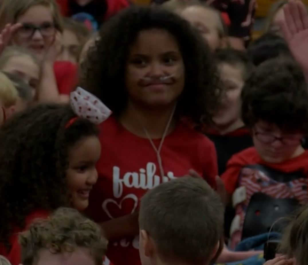 Garwood Elementary goes red to support student in need of heart transplant