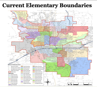 Spokane Public Schools looking to draw new district boundary lines