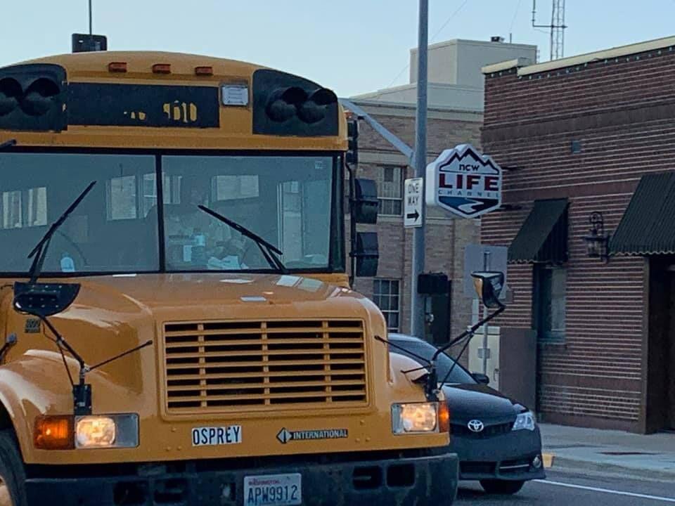 Stolen bus
