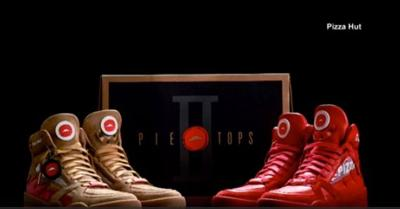 Order pizza with Pizza Hut's Pie Top shoes